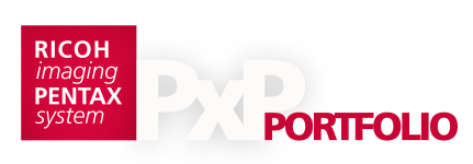 CameraSelfie-Portfolio auf Pentax PxP website