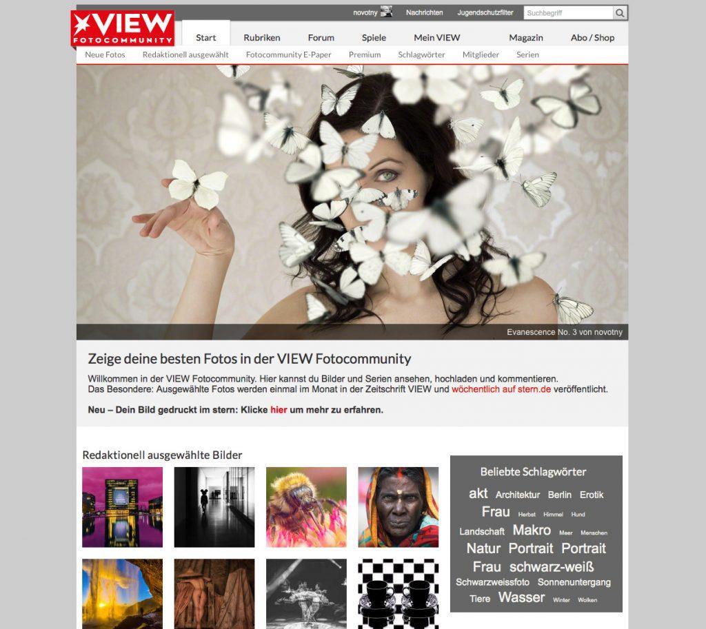 Topbild des Tages bei Stern VIEW: Evanescence 3 von J. F. Novotny